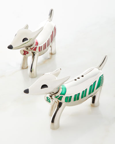 Dachshund Dog Salt & Pepper Shakers