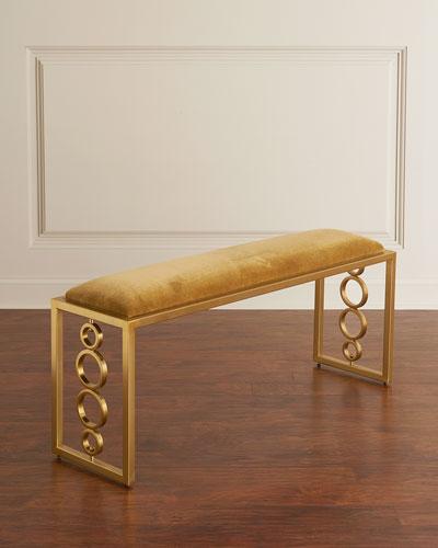 Brown Sugar Brass Bench