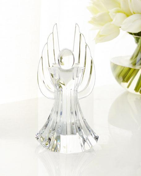 Vista Alegre Angelus Crystal Angel Sculpture