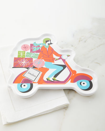Moto Girl Holiday Dessert Tray