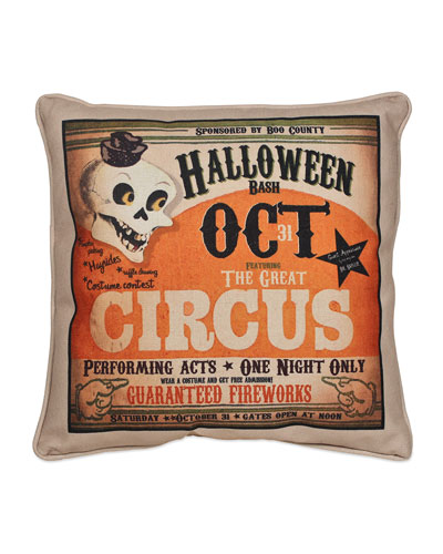 Halloween Bash Pillow