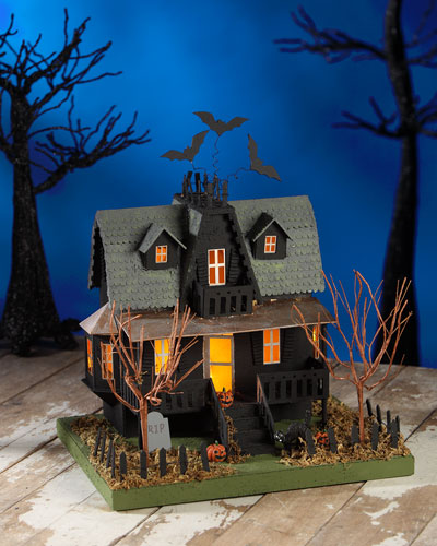 Haunted House Halloween Decor