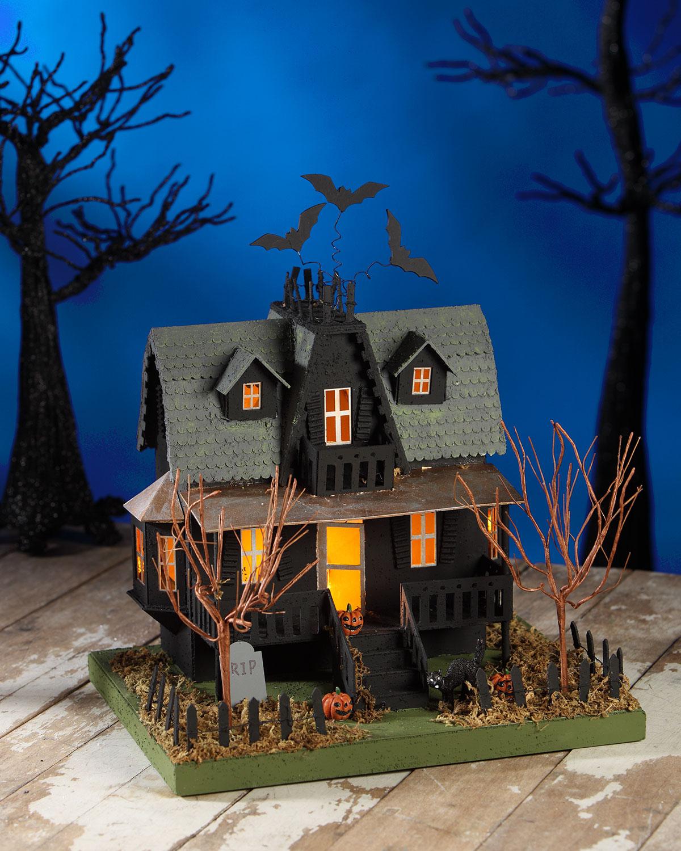 Bethany Lowe Haunted House Halloween Decor Neiman Marcus