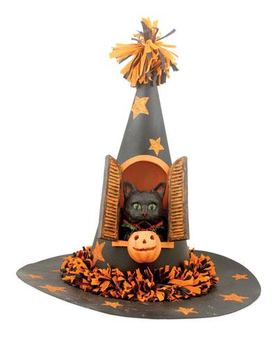 Black Cat in Hat