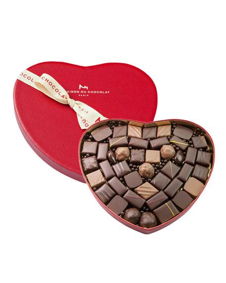 La Maison Du Chocolat 38-Piece Heart Gift Box
