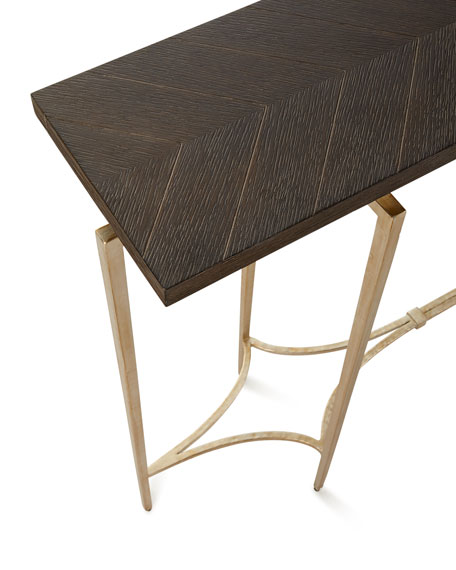 Double Diamond Console Table