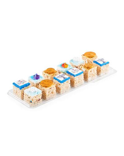 Assorted Hanukkah Rice Crispys, 12-Pack
