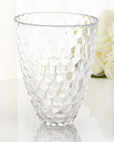 Orrefors Kosta Boda Large Raspberry Vase