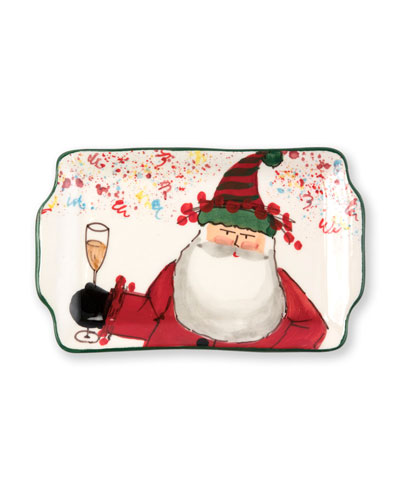 2018 Limited Edition Old St. Nick Rectangular Plate