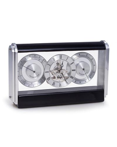 Skeleton Movement Quartz Clock