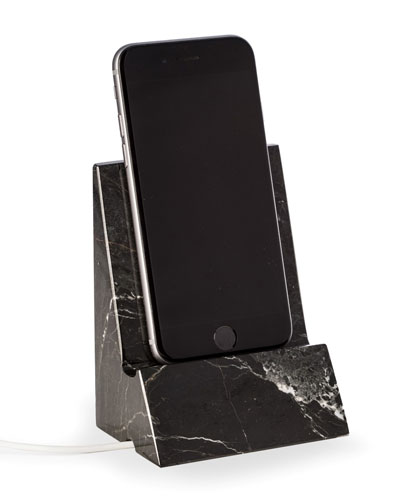 Zebra Marble Phone/tablet Stand