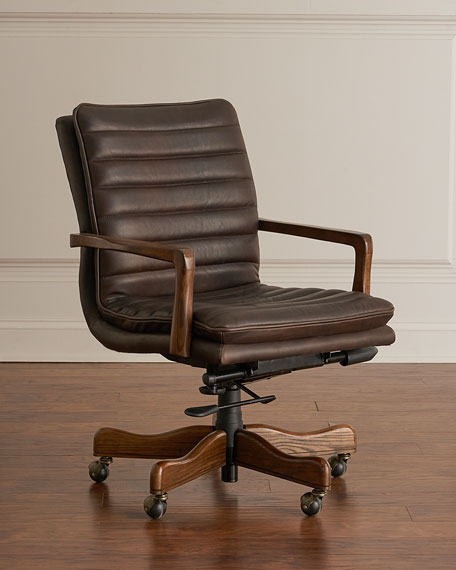 Hooker Furniture Lawrence Leather Office Chair