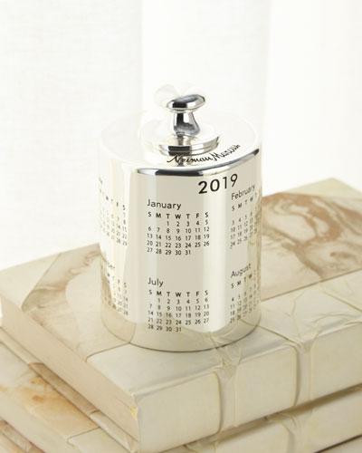2019 Calendar Paperweight