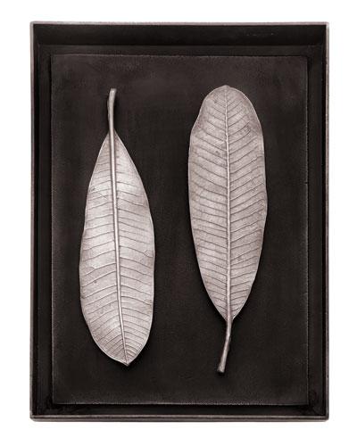 Champa Leaf Shadow Box