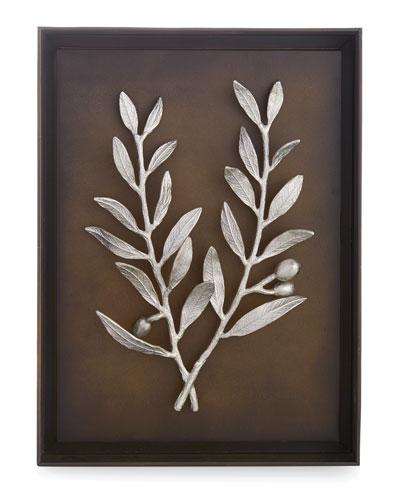 Olive Branch Shadow Box
