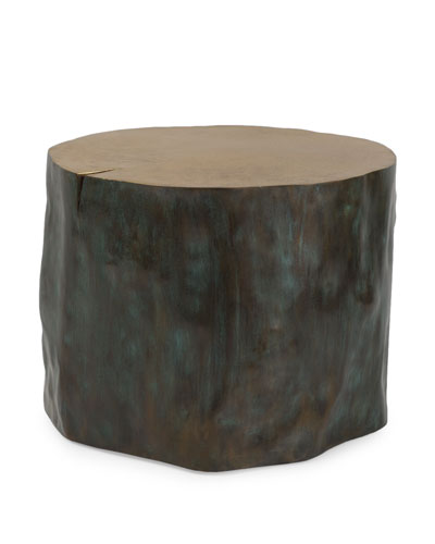 Etched Large Stool