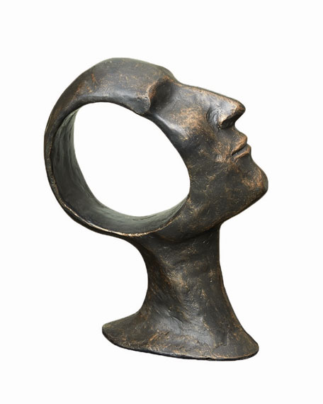 Global Views Hollow Head Small Sculpture