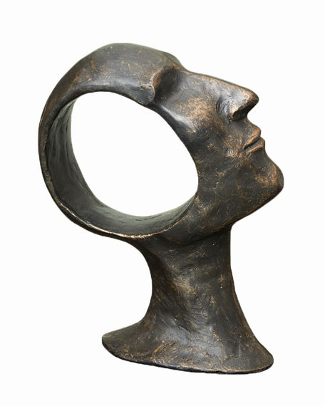 Global Views Hollow Head Large Sculpture