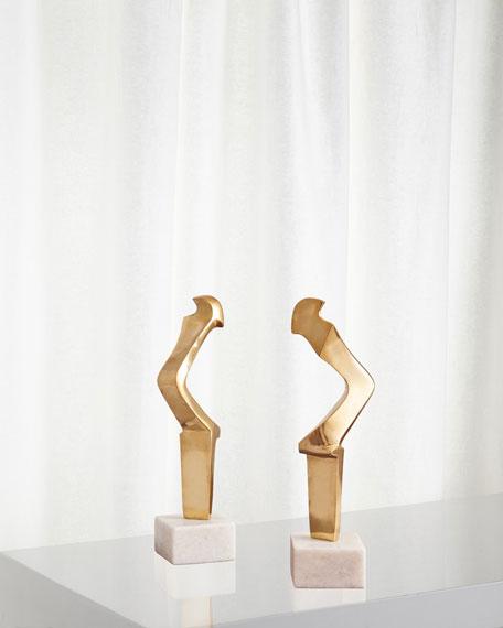 Global Views Sleek Figural Sculpture