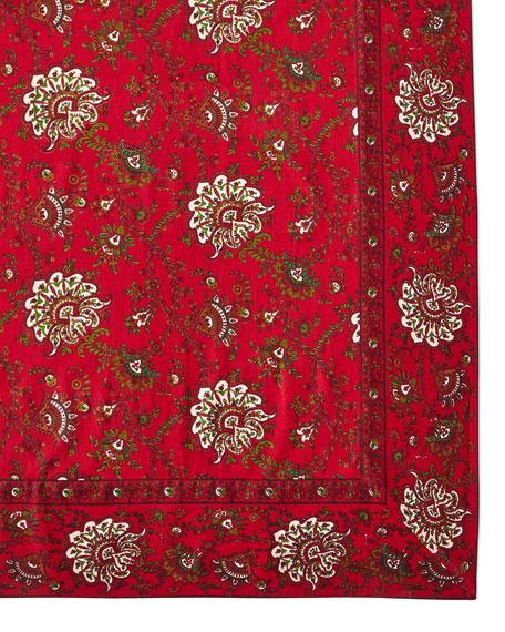 Empress Paisley Tablecloth