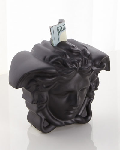 Break The Bank Money Box, Black