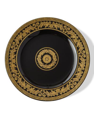 1996 Gold Baroque Dessert Plate
