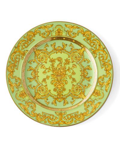 2003 Green Floralia Dessert Plate