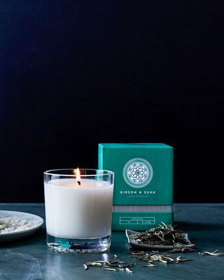 Gibson & Dehn White Tea & Cedar  Scented Candle, 8 oz.