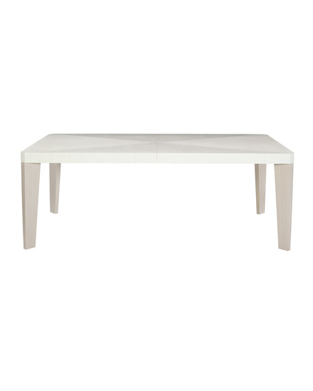 Bernhardt Axiom Rectangular Dining Table with Two Leaves