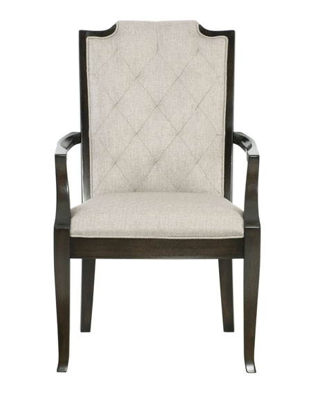 Bernhardt Sutton House Tufted Dining Arm Chair (Each)