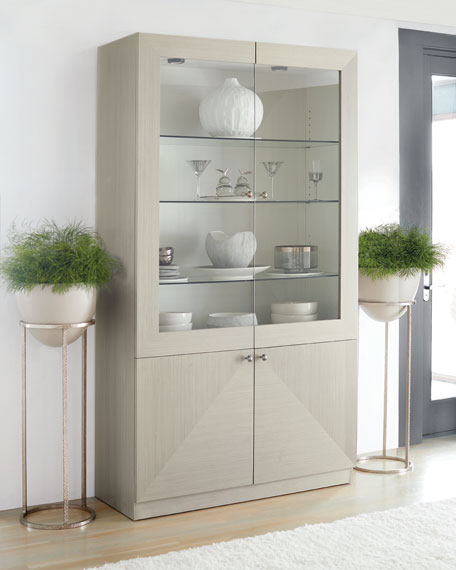 Bernhardt Axiom Four-Door Display Cabinet