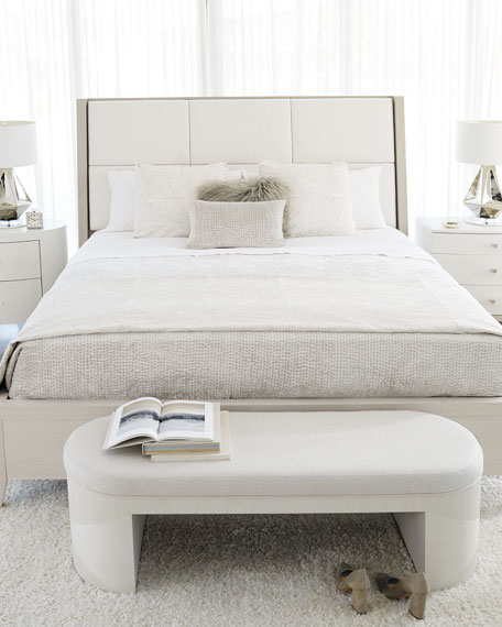 Bernhardt Axiom Upholstered Panel King Bed