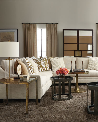 Dusk Button Tufted Sofa 92: Sofas, Sectionals & Settees At Neiman Marcus