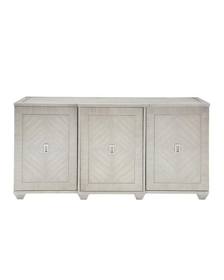 Bernhardt Criteria 3-Door Buffet Console Storage Cabinet