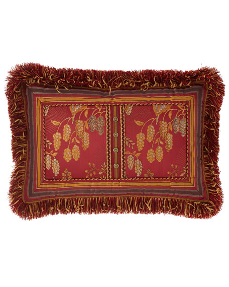 Francesca Oblong Fringe Pillow