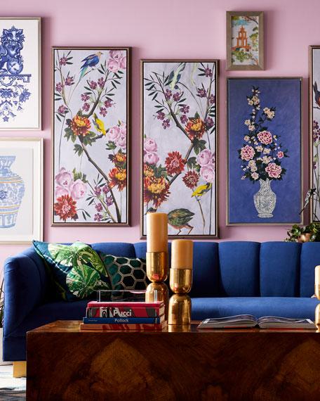 Asian Fragments Prints by Liz Jardine, Set of Six
