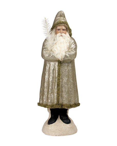 Bethany Lowe Peaceful Belsnickel Christmas Decor Statue