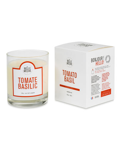 Tomato Basil Scented Candle  190 g