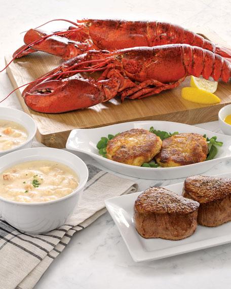 Lobster Gram Live Lobster Dinner For 4
