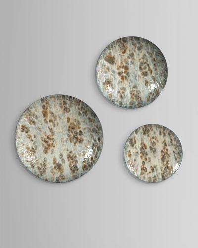 Moonlight Disks Wall Decor, Set of 3