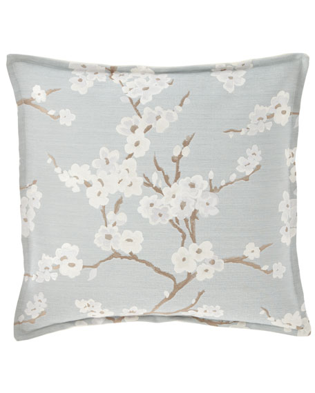 "Isabella Collection by Kathy Fielder Blossom Pillow, 20""Sq."