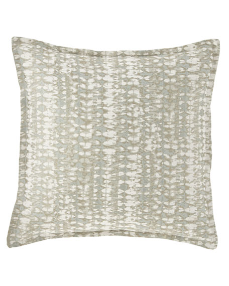 "Isabella Collection by Kathy Fielder Blossom Pillow, 18""Sq."