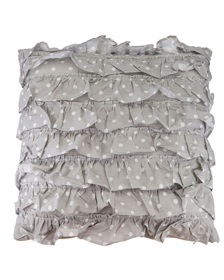 Margaux Dot Textured Pillow