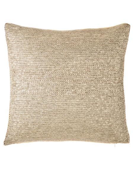 """Jaden Sequin Pillow, 20""""Sq."""