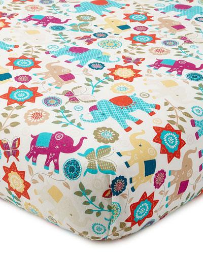 Zahara Fitted Crib Sheet