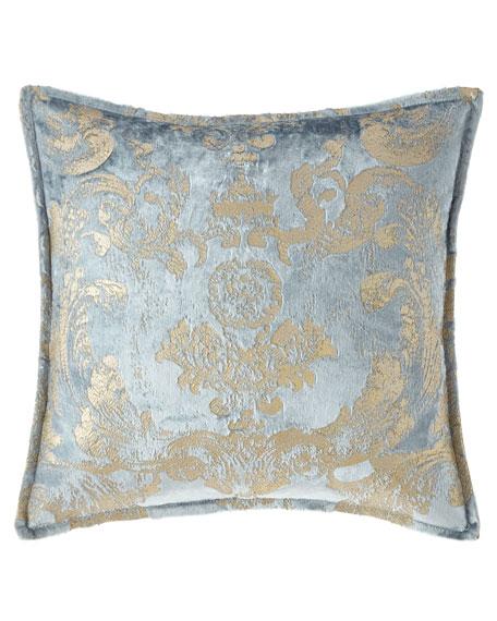 Isabella Collection by Kathy Fielder Gabriella Damask Pillow