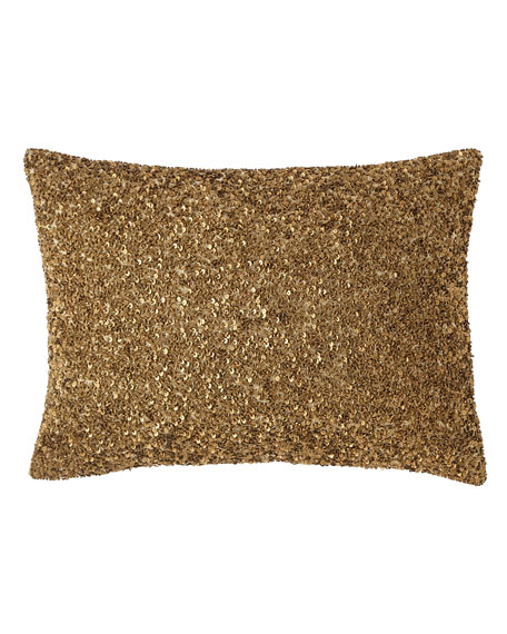 Isabella Collection by Kathy Fielder Gabriella Sequin Pillow