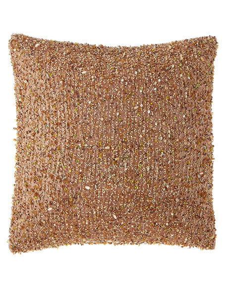 Isabella Collection by Kathy Fielder Margeau Beaded Pillow