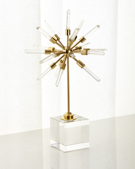 John-Richard Collection Aspiring Crystal Orb Decor