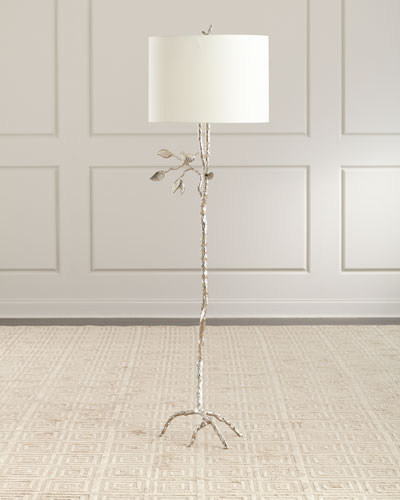 TWISTED TWIG FLOOR LAMP